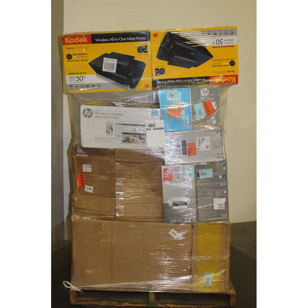 Wholesale - Pallet - 41 Pcs - All-In-One - Tested Not Working - HP