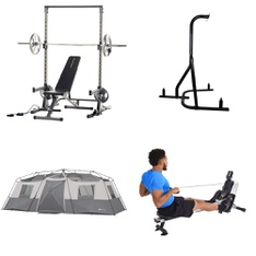 Pallet - 8 Pcs - Exercise & Fitness, Cycling & Bicycles - Customer Returns - Movelo, Fitness Reality, Brand-new, Stamina