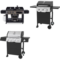Pallet – 3 Pcs – Grills & Outdoor Cooking – Customer Returns – Backyard Grill, Pit Boss