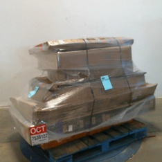 3 Pallets – 22 Pcs – TVs – Tested NOT WORKING (Cracked Display) – VIZIO, Samsung, Onn, TCL