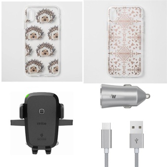1000 Pcs – Electronics & Accessories – New, Open Box Like New, New Damaged Box, Like New, Used – Retail Ready – Heyday, Just Wireless, Incipio, CASE-MATE