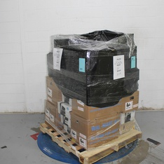 3 Pallets – 861 Pcs – In Ear Headphones, Boombox, Shelf Stereo System, Over Ear Headphones – Customer Returns – Blackweb, Onn, Anker, GN Netcom
