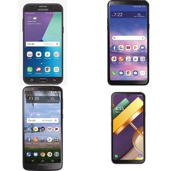 CLEARANCE! 100 Pcs – Cellular Phones – Refurbished (GRADE A, GRADE B, GRADE C – Not Activated) – LG, Samsung, Motorola, BLU