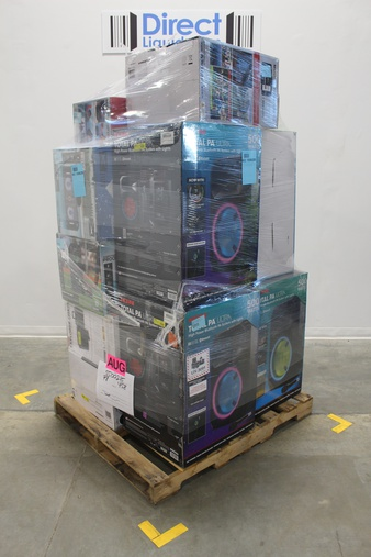 Pallet – 13 Pcs – Speakers – Customer Returns – Ion, Altec Lansing