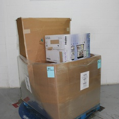 Pallet - 9 Pcs - Networking, Deep Fryers, Mattresses - Tested NOT WORKING - Innomax, Linksys, Keurig, Netgear