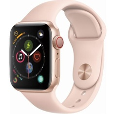 10 Pcs - Apple Watch Gen 4 Series 4 Cell 40mm Gold Aluminum - Pink Sand Sport Band MTUJ2LL/A - Refurbished (GRADE A)
