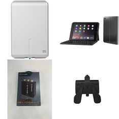 200 Pcs - Electronics & Accessories - Used, Like New, New Damaged Box, Open Box Like New - Retail Ready - One For All, Blackweb, Collective Minds, Apple