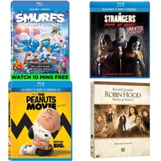 56 Pcs - Movies & TV Media - New - Retail Ready - Sony Pictures Home Entertainment, 20th Century Fox, Warner Brothers, Universal Pictures